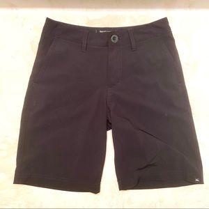 Quiksilver boys black amphibian shorts